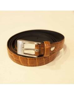 Cinturón piel coco