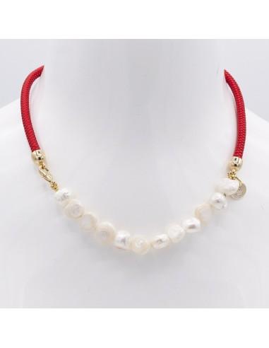 Collar Náutico con Perlas