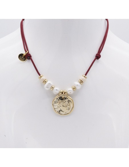 nautical choker with coin