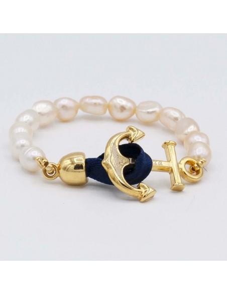 Pulsera nautica perlas