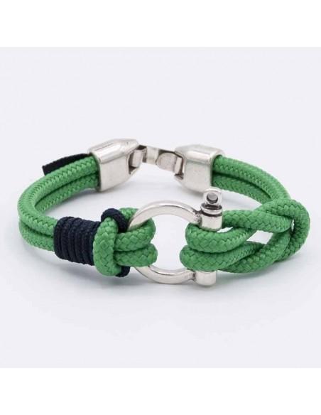 Nautical shackle bracelet