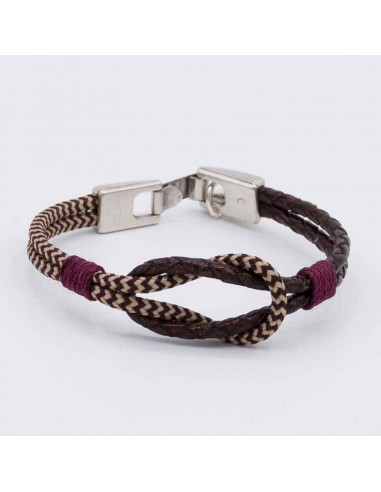 Combined nautical bracelet