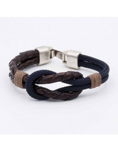 Combined nautical bracelet