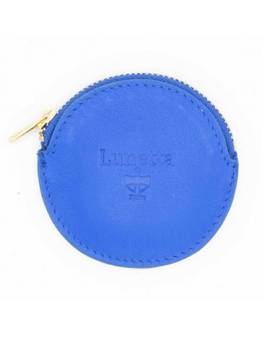 Leather bicolor card holder