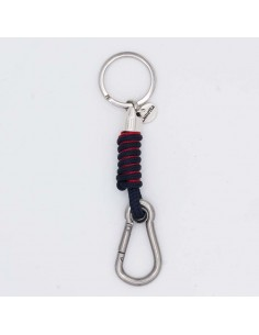 Nautical key chain with carabiner