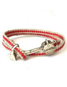 Arrow raffia bracelet